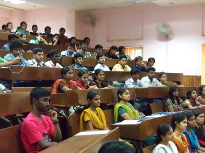 KV Gautam at Anna University Chennai