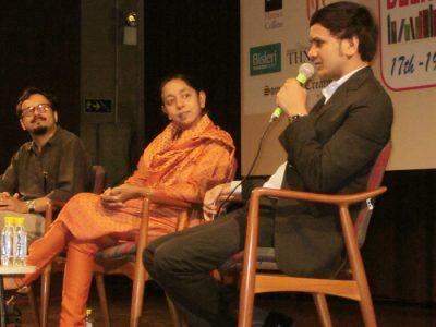 KV Gautam at Delhi Literature Festival