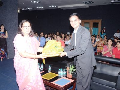 KV Gautam at Manav Rachna International School Gurgaon