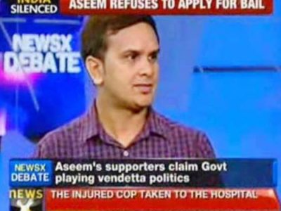 KV Gautam on NewsX TV channel