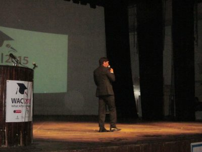 KV Gautam at WAC event